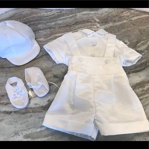 Boys 6-9 month christening outfit